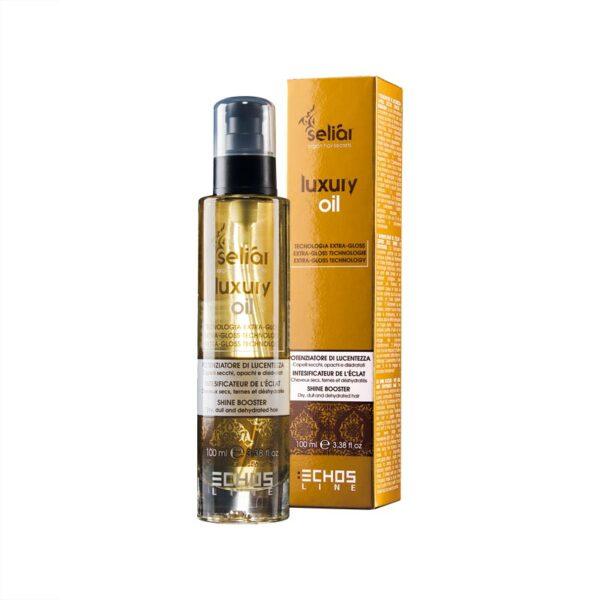 Λάδι μαλλιών λάμψης και ενυδάτωσης Seliar Luxury oil