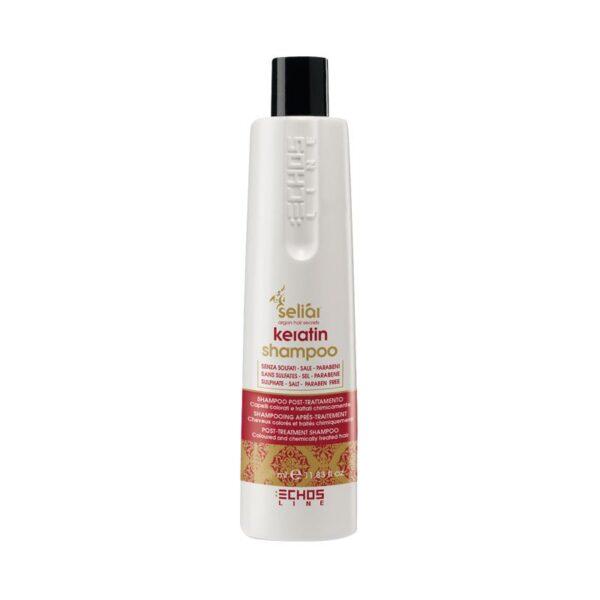 Σαμπουάν μαλλιών με κερατίνη Seliar Κeratin