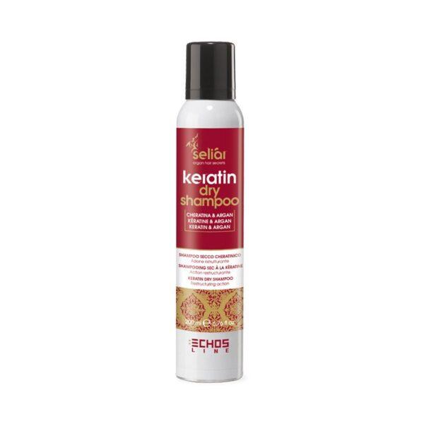 Dry Shampoo με κερατίνη Seliar Keratin