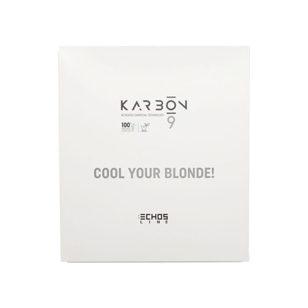 Κιτ Karbon για ψυχρά ξανθά μαλλιά Cool your blonde 3 τμχ