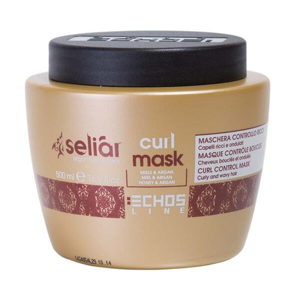 Μάσκα για σγουρά και σπαστά μαλλιά Seliar Curl