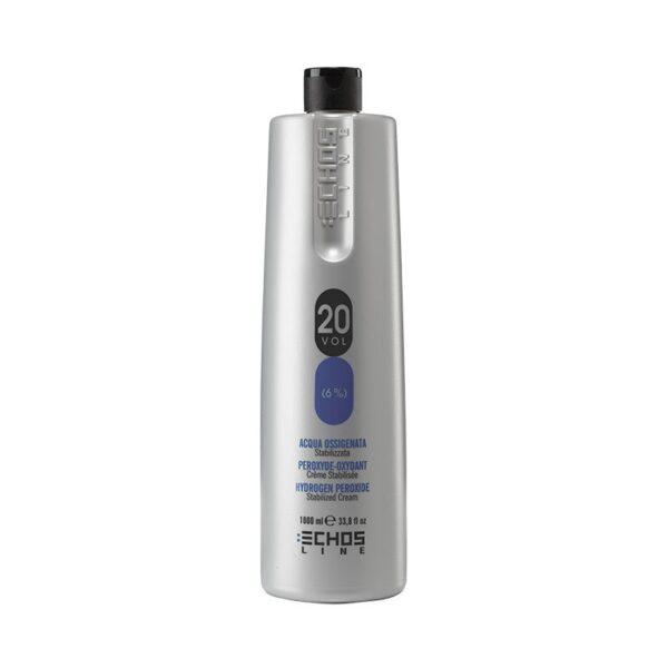 Οξυζενέ για βαφή μαλλιών 20% Volume Echosline