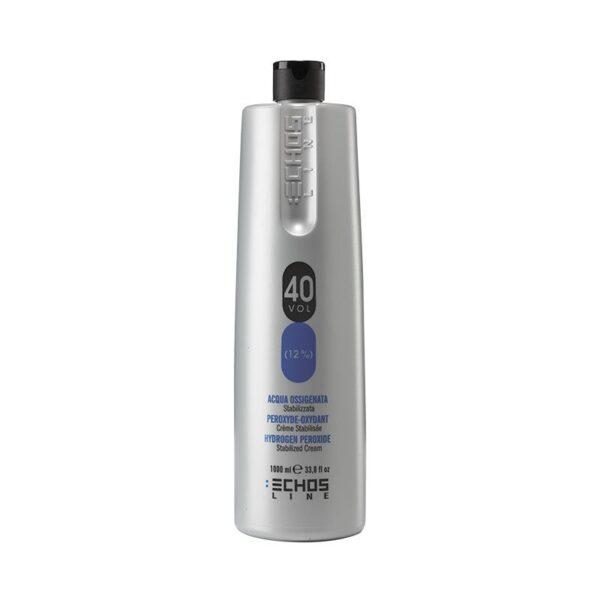 Οξυζενέ για βαφή μαλλιών 40% Volume Echosline