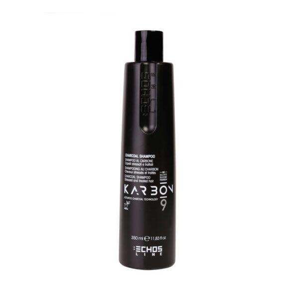 Σαμπουάν για ξηρά και ταλαιπωρημένα μαλλιά με ενεργό άνθρακα Karbon9