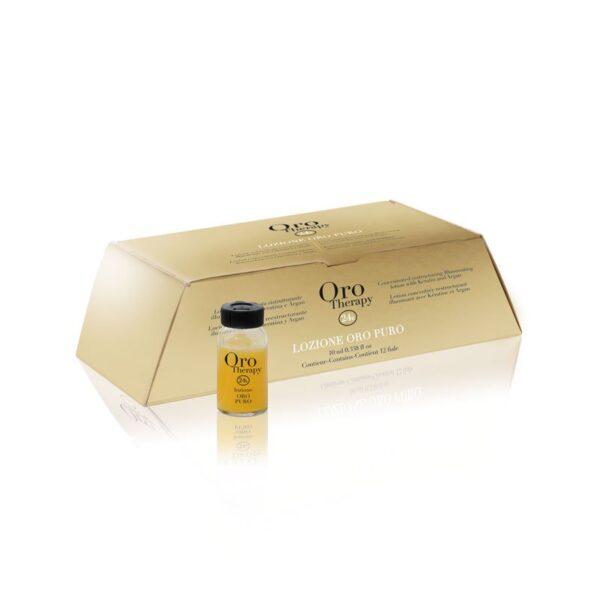 Αμπούλες ενδυνάμωσης και λάμψης Oro therapy