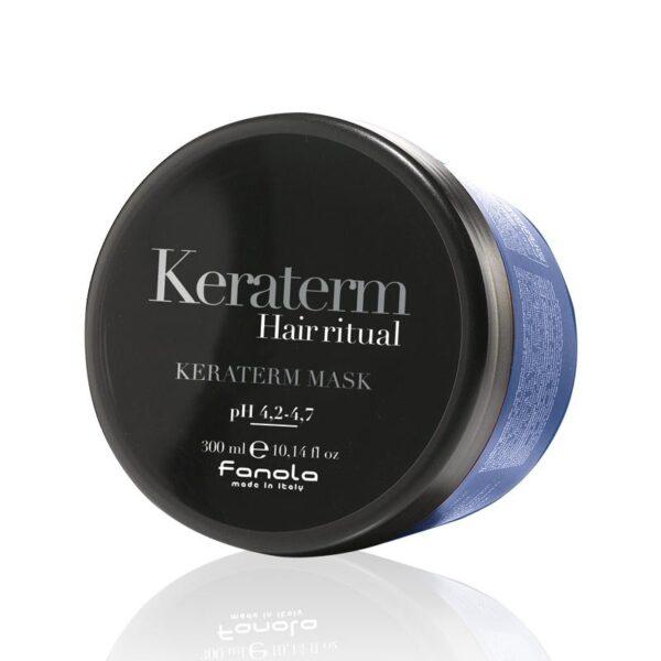 Μάσκα μαλλιών λείανσης με κερατίνη Keraterm