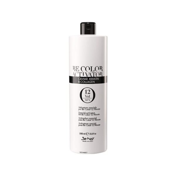 Οξυζενέ για βαφή μαλλιών Be hair 12% volume