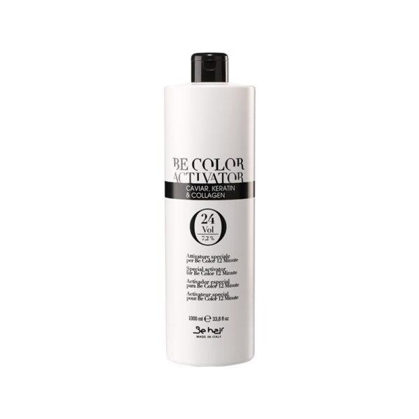 Οξυζενέ για βαφή μαλλιών Be hair 24% volume