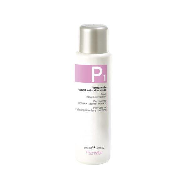 Φάρμακο Περμανάντ P1 για φυσικά μαλλιά Fanola