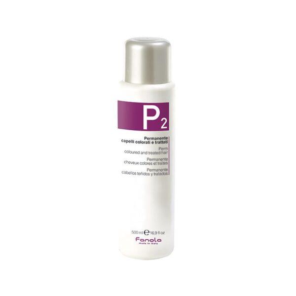 Φάρμακο Περμανάντ P2 για βαμμένα μαλλιά Fanola