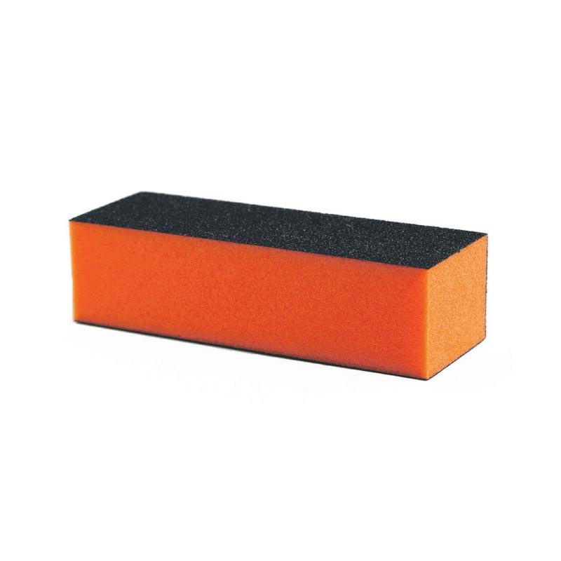 Buffer νυχιών Block Πορτοκαλί σκληρότητα 120/180