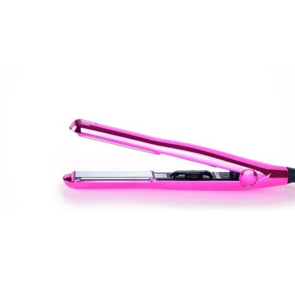Ισιωτική μαλλιών με πλάκες τιτανίου Titanium Mirror ροζ