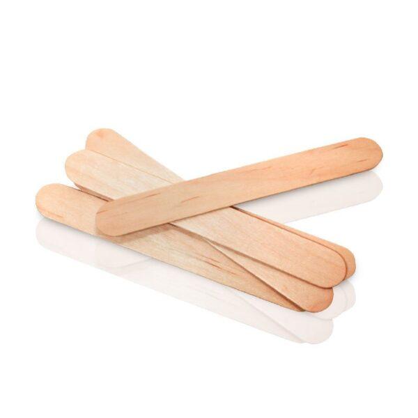 Σπάτουλες μιας χρήσης ξύλινες 200τμχ