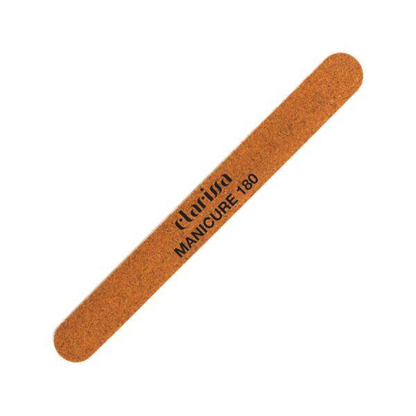 Λίμα μανικιούρ πεντικιούρ λεπτή ξύλινη σκληρότητα 180