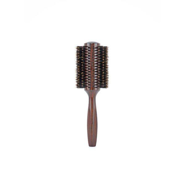 Βούρτσα μαλλιών ισιώματος ξύλινη 100% φυσική τρίχα Ebony