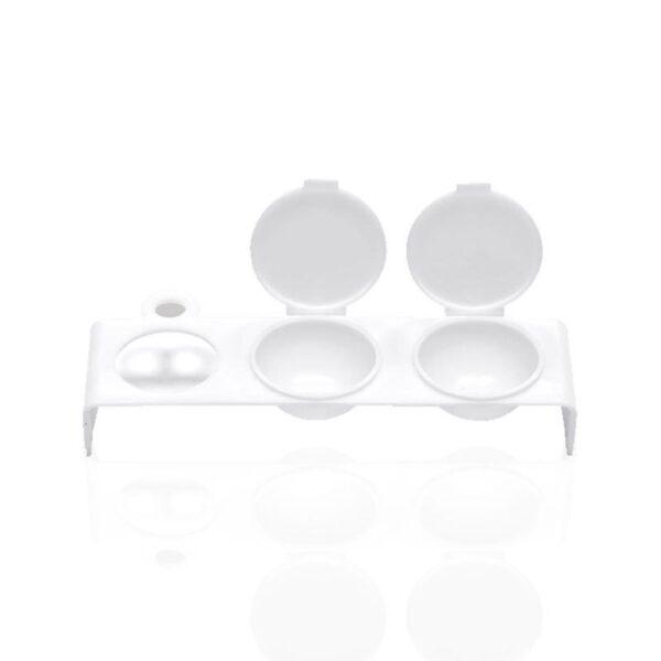 Δοχείο πλαστικό διπλό για αποθήκευση σκόνης ακρυλικού