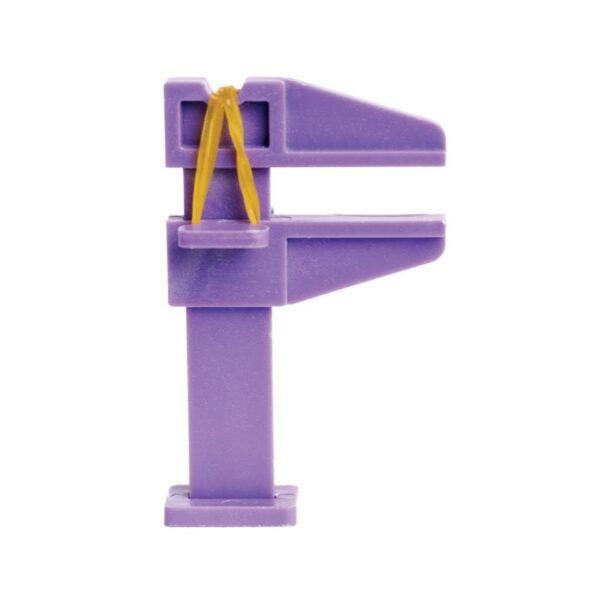 Εργαλείο πλαστικό μωβ για δημιουργία καμπύλης C
