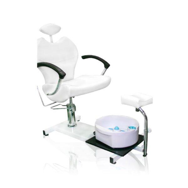 Κάθισμα πεντικιούρ με ποδόλουτρο