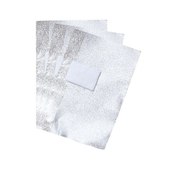 Pads έτοιμα κομμένα με αλουμινόχαρτο για αφαίρεση ημιμόνιμου