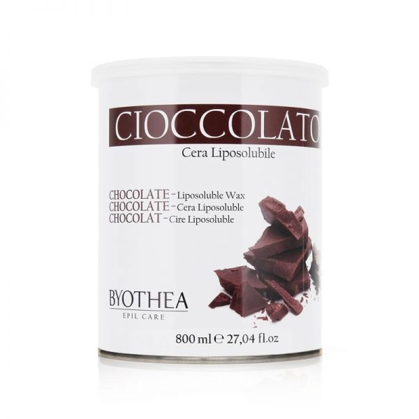 Κερί αποτρίχωσης σε βάζο σοκολάτα