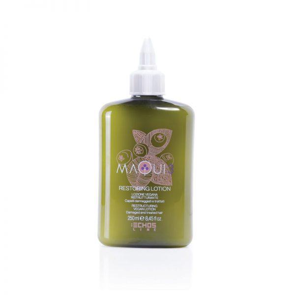 Λοσιόν ανάπλασης και αναδόμησης μαλλιών Restoring lotion Maqui 3