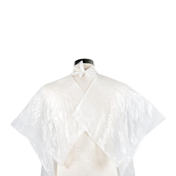 Μπέρτες βαφής μιας χρήσης λευκές 30τμχ