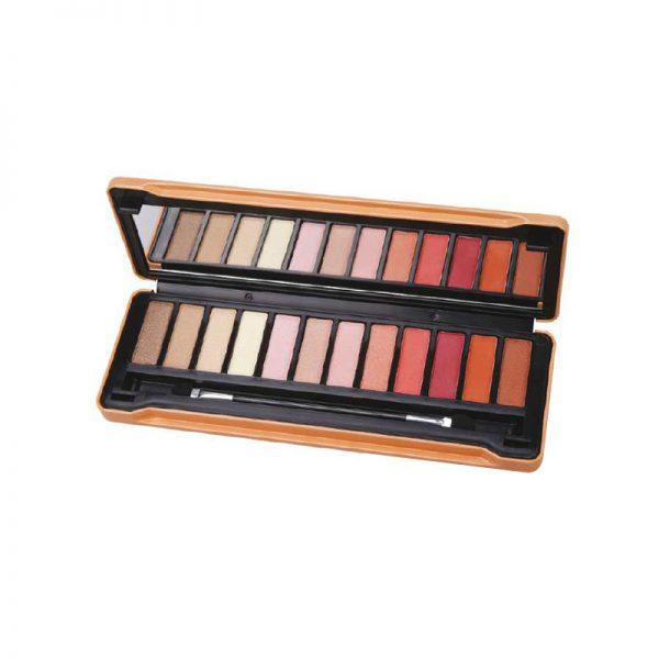 Παλέτα μακιγιάζ 12 σκιών Velvet Peach