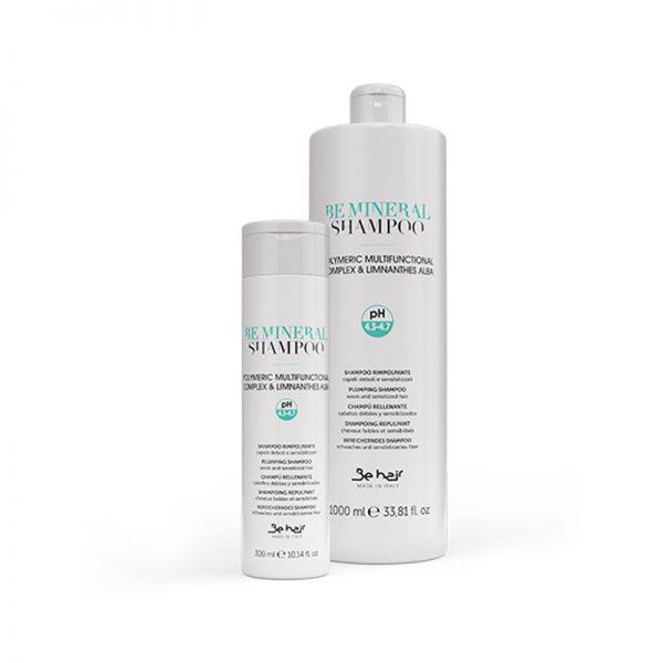 Σαμπουάν για λεπτά μαλλιά Be mineral με πολυμερές σύμπλεγμα