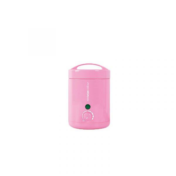 Κεριέρα βάζο για δισκία κεριού ροζ 125ml