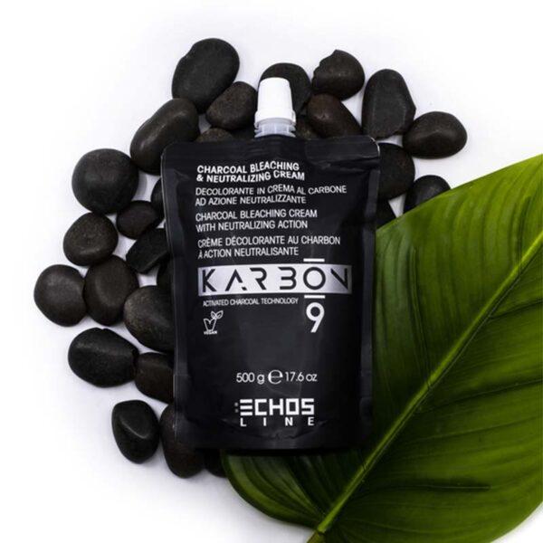 Ντεκαπάζ με ενεργό άνθρακα μαύρο κρεμώδες Karbon