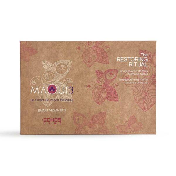 Σετ περιποίησης μαλλιών για αναδόμηση Τhe Restoring Ritual Maqui3