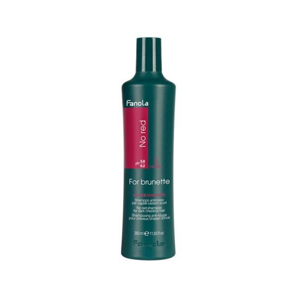 Σαμπουάν No Red κατά των κόκκινων ανεπιθύμητων τόνων σε καστανά μαλλιά